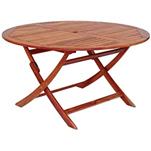 round folding table wood round garden table outdoor patio garden