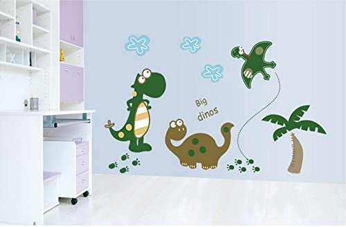 Cartoon Dinosaur Children'S Bedroom Decoration Wall Stickers front-236850