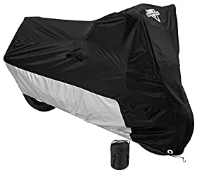 Nelson-Rigg MC-904-05-XX Deluxe All-Season Motorcycle Cover (Black, XX-Large)
