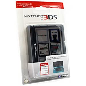 Boîte de rangement noir pour 24 jeux Nintendo 3DS/DSi XL/DSi/DS Lite