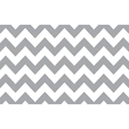 Savage Printed Background Paper 53 in. x 18 ft. - Gray/White Chevron P-PA5318GWC