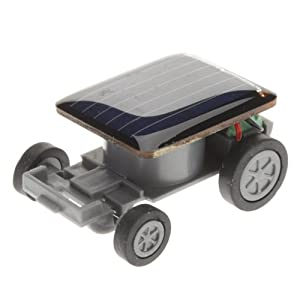 MillionAccessories Solar Car - World's Smallest Solar Powered Car - Educational Solar Powered Toy