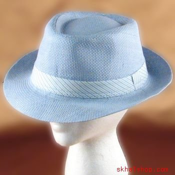VENTED STINGY BRIM TRILBY FEDORA CRUSHABLE HAT W BAND LT BLUE M/L - MEDIUM - LARGE - Buy VENTED STINGY BRIM TRILBY FEDORA CRUSHABLE HAT W BAND LT BLUE M/L - MEDIUM - LARGE - Purchase VENTED STINGY BRIM TRILBY FEDORA CRUSHABLE HAT W BAND LT BLUE M/L - MEDIUM - LARGE (UBI, UBI Hats, Womens UBI Hats, Apparel, Departments, Accessories, Women's Accessories, Hats, Womens Structured Hats)