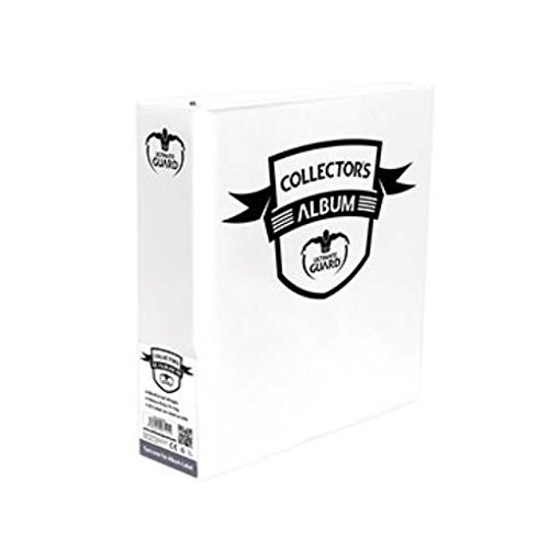 3 White Binder Collectors Album by Ultimate Guard
