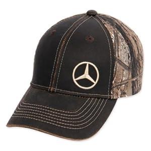 Genuine mercedes benz realtree camo cap for Mercedes benz hat amazon