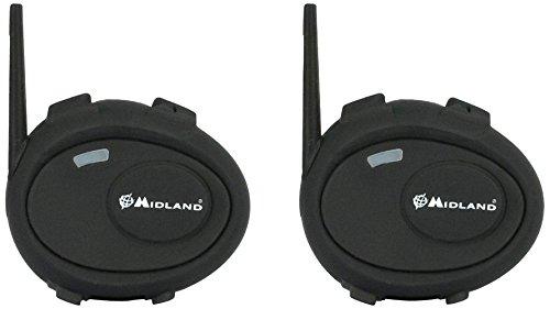 Midland C92901 BT City TWIN 2x Système de Communication Bluetooth pour 2 roues