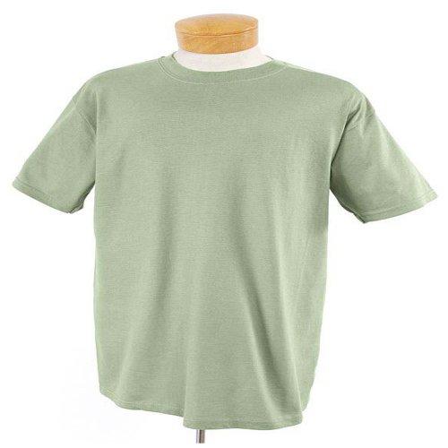 Jerzees - 5.6 oz 50/50 T-shirt, Bamboo Green, XL