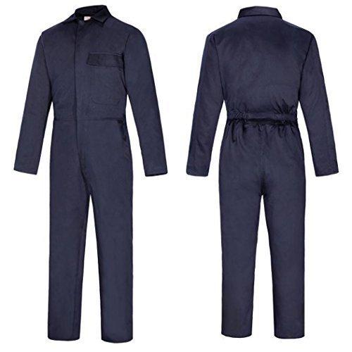 Lakeland, Tuta da lavoro per saldatura, protegge dal calore e dalle fiamme Tuta da lavoro. 80% cotone / 20% poliestere trattato. Blue XXL