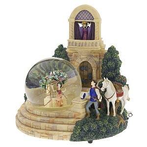 Disney Snow White Evil Queen Snowglobe Snow Globe Prince Blower by Disney