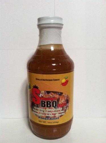 Solomon'S BBQ Original Gluten Free Sauce-Apple Splash -16Oz- 3 Pack
