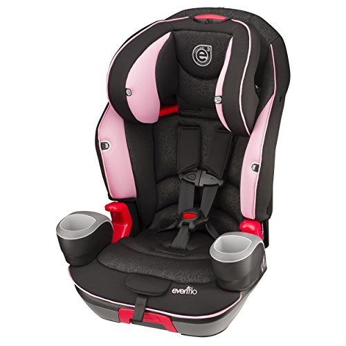 Evenflo Evolve 3-in-1 Combination Seat, Pink Daisies - 1