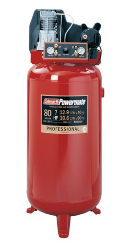 Buy Coleman CL7008017 Powermate Premium Plus Series, Oil Lubricated Belt Drive, 80 gallon Air Compressor