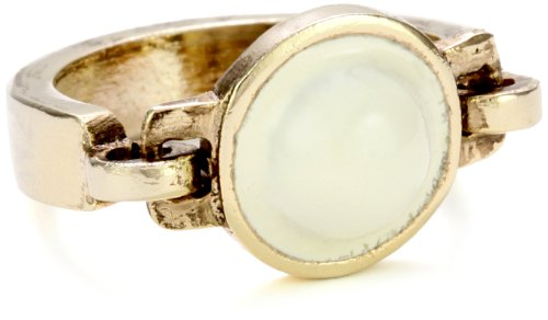 Low Luv by Erin Wasson Gold-Tone Mini Dome, Ring 7