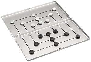 philos 3134 m hle reisespiel alu magnetisch strategiespiel spielzeug. Black Bedroom Furniture Sets. Home Design Ideas