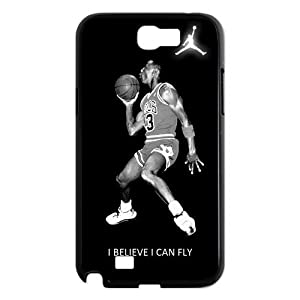 Michael Air Jordan I Believe I Can Fly Samsung Galaxy Note 2 N7100 Best Durable Case Cover