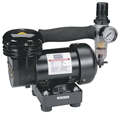 Hobbico Mini Air Compressor with Regulator and Filter