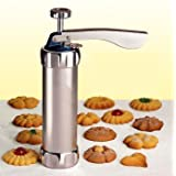 Vktech Cookie Press Machine Biscuit Maker Cake Making Decorating Gun Kitchen Tools Set
