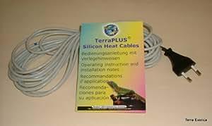Eurozoo Heizkabel - 50 Watt / 6 m Silikon-Heizkabel