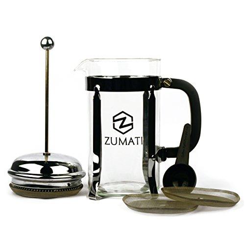 Zumati French Press 34 Oz Coffee and Tea Maker