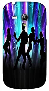 Timpax Light Weight One-piece construction Hard Back Case Cover Printed Design : Dance on my life.Specifically Design For : Samsung I8190 Galaxy S3 mini