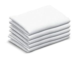 Kärcher 63693570 Lot de 5 Tissus absorbants pour nettoyeur vapeur