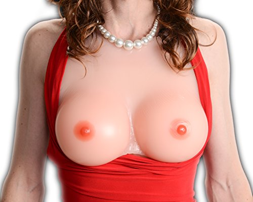 Silicone Breast Form Envy Be Mine Mastectomy Crossdressers And Transvestites Size 10(4Xl) Sizes 40Dd/42D/44C