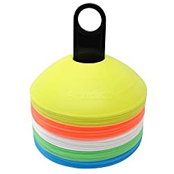 PS Pilot Training Cone Marker- 2 Inches (Set of 50 of 5 colors)