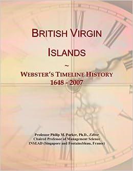 timeline islands British virgin