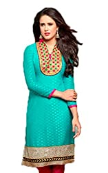 Vivacity Women's Cotton Unstitched Dress Material (Chillax-09_Multi_Free Size)