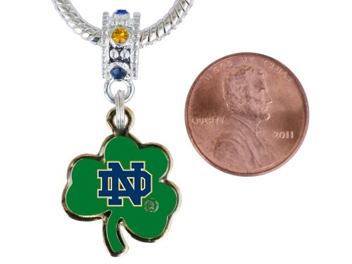 Notre Dame Gold Tone Charm  Connector Will Fit