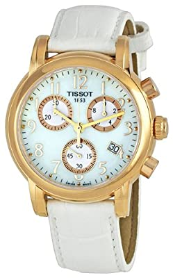 Tissot T Classic Dressport Chronograph Women's Watch T050.217.36.112.00 by Tissot