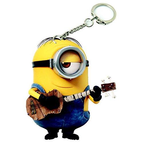 Portachiavi con ciondolo di Stuart con chitarra dei Minions