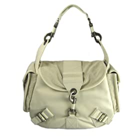 Dior Handbags (Ivory) KCS44206 Leather Rebelle Messenger Hobo Bag