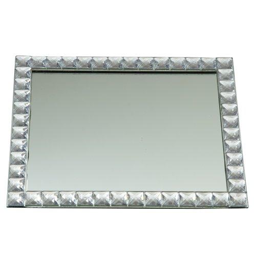 Rectangular Mirror Vanity Tray