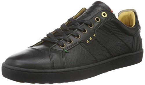 Pantofola D'OroCanaverse Cocodrillo Uomo Low - Scarpe da Ginnastica Basse Uomo , Nero (Schwarz (.25Y)), 44