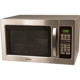 New Haier 1000-Watt Countertop Stainless Steel Microwave/Convection Oven
