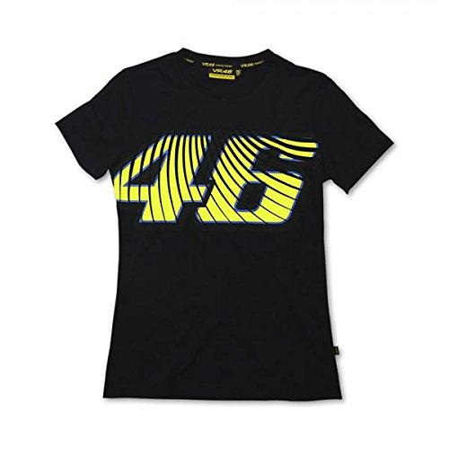 VR/46 vRWTS108004 t-shirt donna, noir