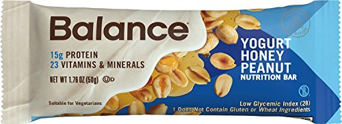 Balance Bar® Yogurt Honey Peanut, 1.76 ounce bars, 6 count (Honey Bar compare prices)