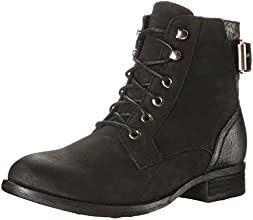 Aldo Women's SAYDDA City Ankle Boot, Black Nubuck, 5 B US