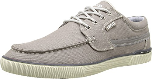 IZOD Men's Oasis Sneaker, Gray, 11 M US (Oasis Shoes Men compare prices)
