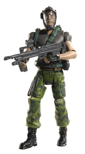 Picture of Mattel James Cameron's Avatar RDA Private Sean Fike with Bio-Helmet Figure (B0039RHPOK) (Mattel Action Figures)