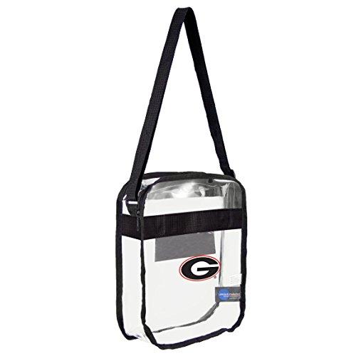 ncaa-georgia-bulldogs-clear-carryall-crossbody-bag-by-littlearth