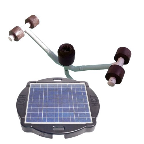Natural Current Water Products Ncsspskimf Pool Savior Solar Powered Floating Skimmer Float front-87195