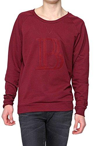 Pierre Balmain Felpa , uomo, Colore: Rosso Bordeaux, Taglia: 48