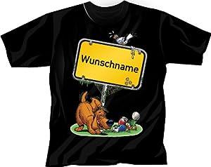 T-Shirt mit Stadt Aufdruck: Freiburg - Stadtshirt Stadt-Name Ortsschild - M L XL XXL