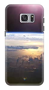 Generic Hard Printed Back Cover for Samsung S7 (Multicolor)