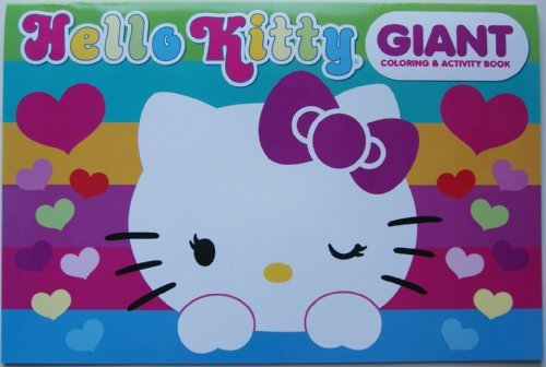 Hello Kitty Giant Coloring and Activity Book