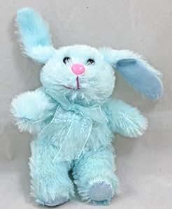 Amazon.com: Easter Bunny 7-inch Plush Toy Pastel Blue