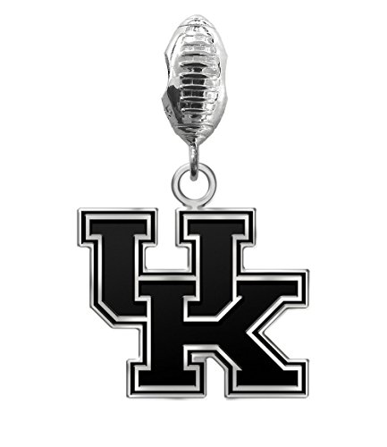 Kentucky Wildcats Antique Football Dangle Charm Fits All European Style Charm Bracelets