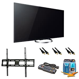 Sony XBR-55X850A 55-Inch 4K Ultra HD 120Hz 3D LED HDTV Wall Mount Bundle